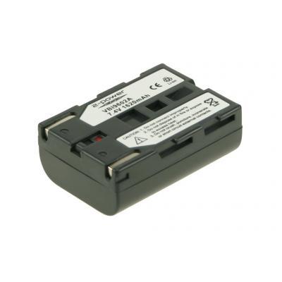 2-Power VBI9602A Batterijen voor camera's/camcorders