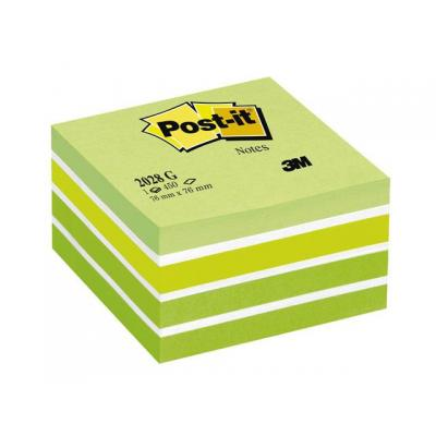 Post-it zelfklevend notitiepapier: Notitieblok PostIt 76x76mm pastelgr/450v
