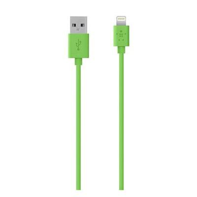 Belkin USB kabel: MIXIT↑ Lightning - USB - Groen