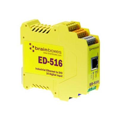 Brainboxes power relay: Ethernet to DIO 16 Digital Inputs and Serial Port - Geel
