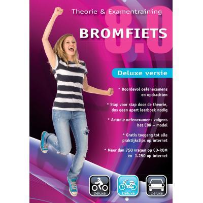 Educontract educatieve software: Bromfiets Theorie en Examen Training 8.0 Deluxe