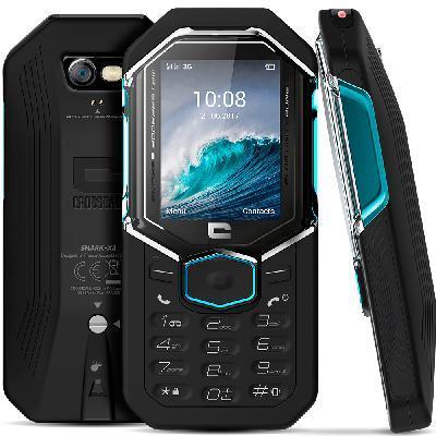 Crosscall mobiele telefoon: Shark-X3 - Zwart