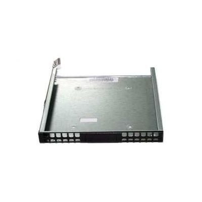 Supermicro Computerkast onderdeel: Black USB dummy tray - Zwart, Geborsteld staal