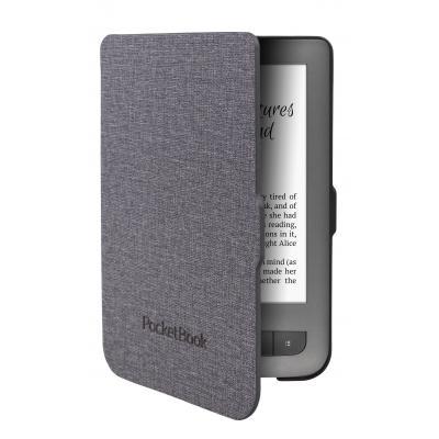 Pocketbook e-book reader case: JPB626(2)-GL-P - Zwart, Grijs