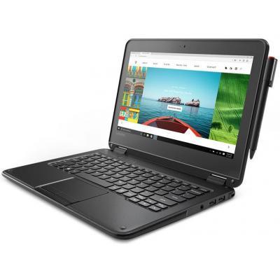 "Lenovo 11,6"" N3350/4GB/32GB SSD/11,6"" HD Touch laptop - Zwart"