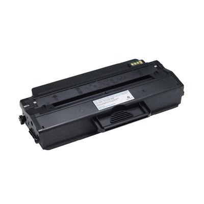 Dell toner: Zwarte tonercartridge met hoge capaciteit voor de laserprinter B1260 / B1265 (2500 pagina's)