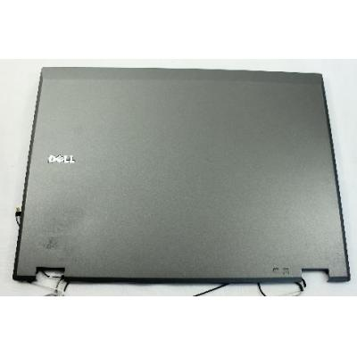 Dell notebook reserve-onderdeel: LCD Back Cover, Silver - Zilver