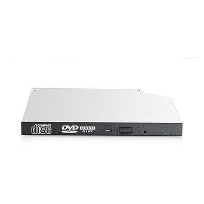 Hewlett packard enterprise brander: 9.5mm SATA DVD-ROM JackBlack Optical Drive - Zwart