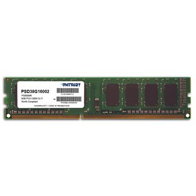 Patriot Memory DDR3 8GB PC3-12800 (1600MHz) DIMM RAM-geheugen