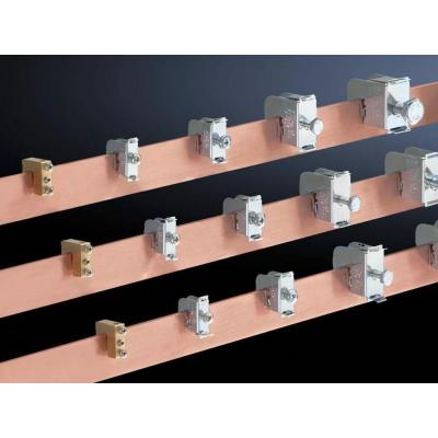 Rittal kabelklem: SV Conductor connection clamp, 2,5-16 mm², 8x8 mm/for bar thickness 10mm