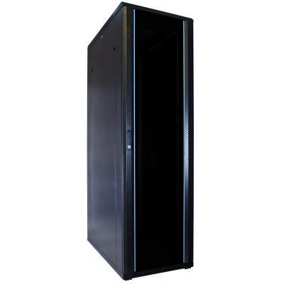 DS-IT 42U serverkast met glazen deur 600x1000x2000mm (BxDxH) Rack