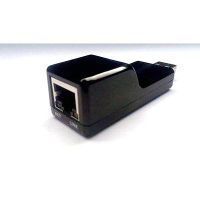 Zebra Ethernet Adapter, f / VC80 Kabel adapter - Zwart