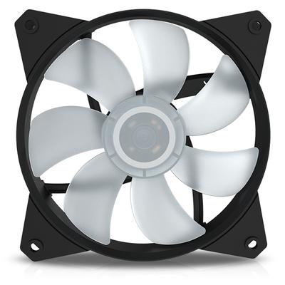 Cooler master Hardware koeling: MasterFan MF121L RGB - Zwart, Transparant