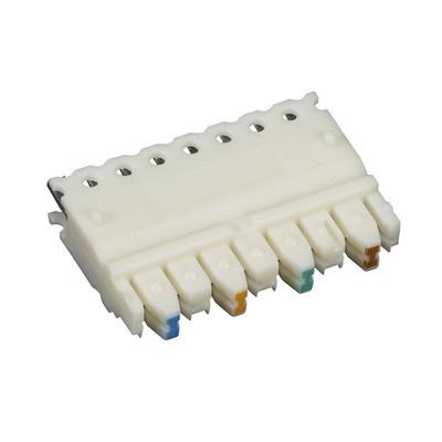 Black Box CAT5e Connecting Block, 4-Pair, 10-Pack Patch panel accessoire - Wit