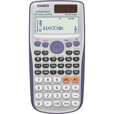 Casio calculator: FX-991DE Plus - Grijs