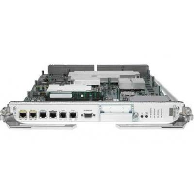 Cisco netwerk switch module: ASR9K Route Switch Processor 440G/slot, 6GB RAM, 2x 1GE, 2x 10G SFP+, for Packet Transport