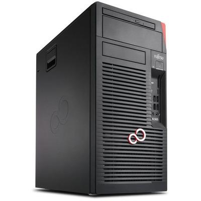 Fujitsu CELSIUS W580 MT i7 16GB RAM 512GB SSD Pc - Zwart, Rood