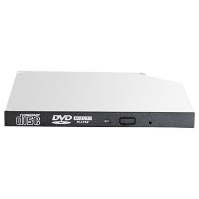 Hewlett packard enterprise brander: 9.5mm SATA DVD-ROM JackBlack Gen9 - Zwart