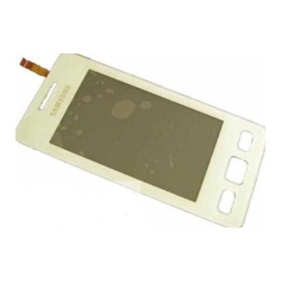 Samsung S5260 Star II, touch panel, white mobile phone spare part