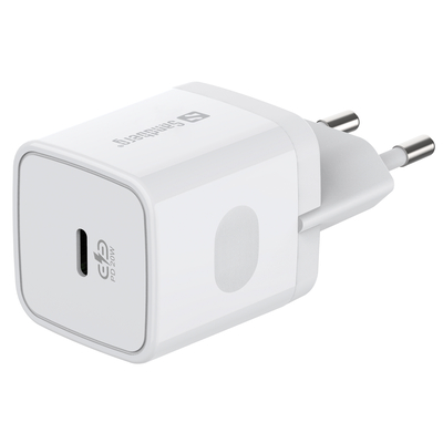 Sandberg USB-C AC Charger PD20W Oplader - Wit