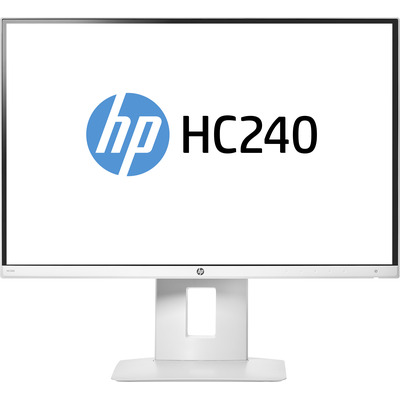 HP HC240 Healthcare Edition Monitor - Wit - Demo model