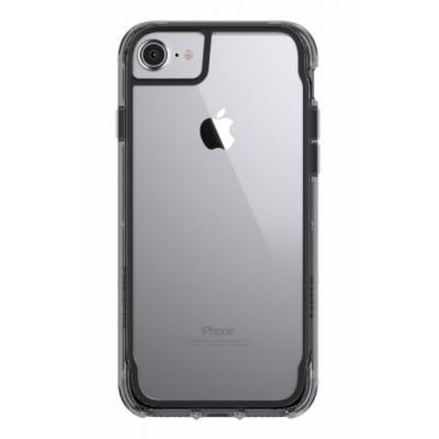 Griffin Survivor Clear for iPhone 8 Mobile phone case - Zwart, Transparant