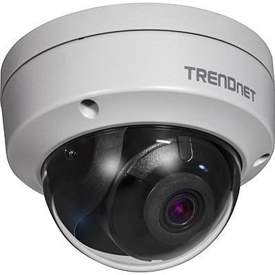 Trendnet TV-IP327PI - Indoor/Outdoor 2MP H.265 WDR PoE IR Dome Network Camera Beveiligingscamera - Zilver