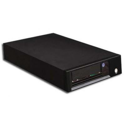 Tandberg Data LTO-6 HH SAS Tape drive - Zwart