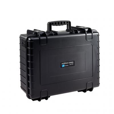 B&w : PP/Foam, 419.1x510.5x215.9mm, 4.3kg, Black - Zwart