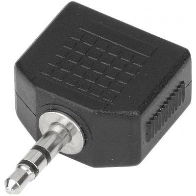 Estuff : 3.5mm - 2x 3.5mm - Zwart