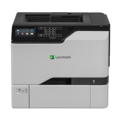 Lexmark laserprinter: CS728de - Zwart, Grijs
