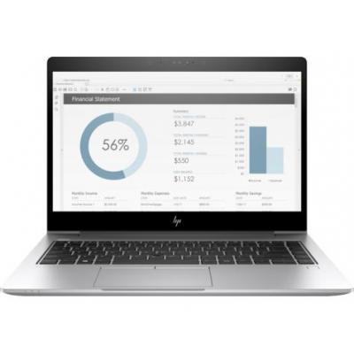 HP laptop: EliteBook 840 G5 - Zilver