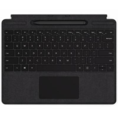 Microsoft Surface Pro X Signature Keyboard met Slim Pen Bundel - QWERTY Mobile device keyboard - Zwart