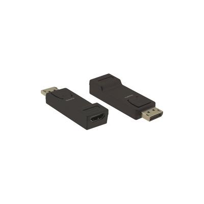 Kramer Electronics DisplayPort M - HDMI F, HDCP, EDID - Zwart