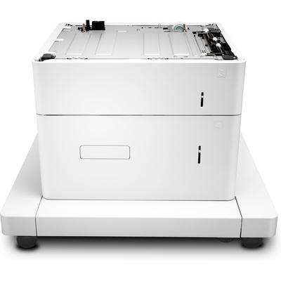 HP LaserJet voor 550 vel en high-capacity invoer voor 2000 vel en standaard Papierlade - Wit