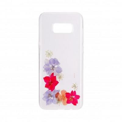 FLAVR iPlate Real Flower Amelia Mobile phone case - Multi kleuren, Transparant