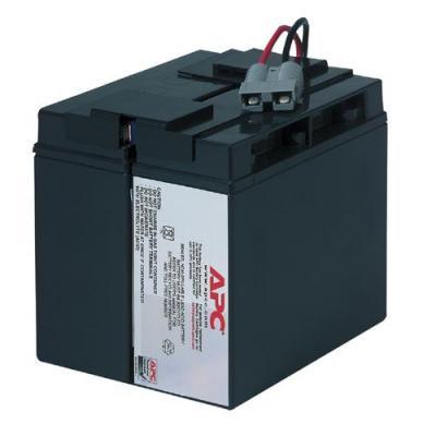 Apc batterij: Replacement Battery Cartridge #7 - Zwart