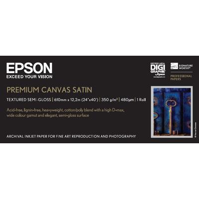 """Epson PremierArts, 24"""" x 12.2m, 350g/m² Fotopapier - Wit"""