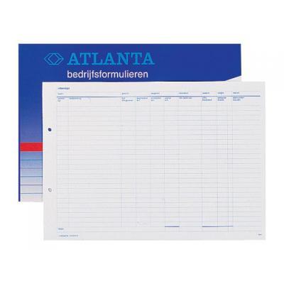 Atlanta telefoonberichten kussen of boek: Rittenlijst/blok 50