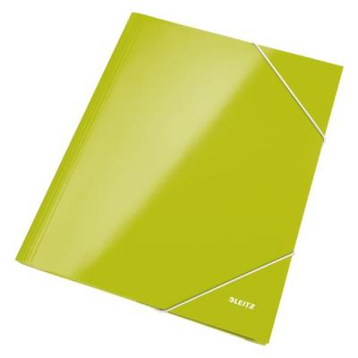 Leitz WOW 3-klepskarton Map - Groen