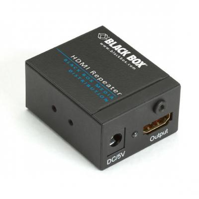 Black Box Full HD, 340-MHz/3.4-Gbps, HDMI F, 35m AV extender - Zwart