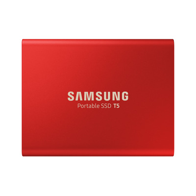 Samsung T5 - Rood