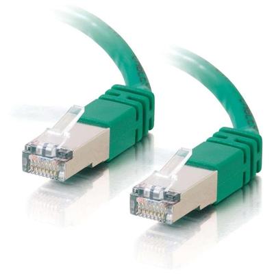 C2G Cat5E STP 10m Netwerkkabel - Groen