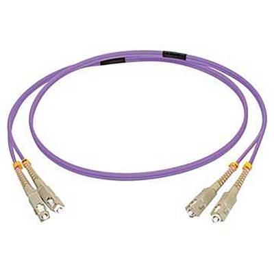 C2G 2M SC/SC OM4 LSZH FIBRE PATCH - VIOLET Fiber optic kabel