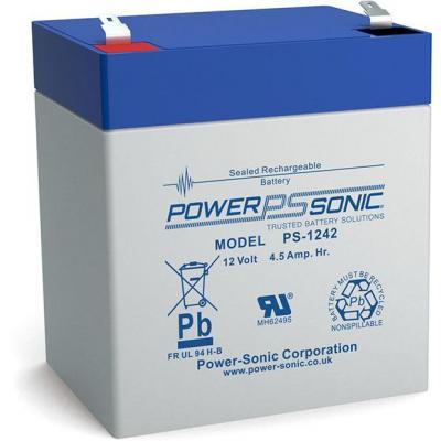 Power-Sonic PS-1242 UPS batterij - Blauw, Grijs