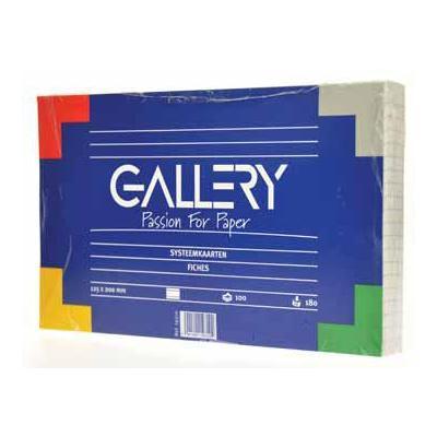 Gallery indexkaart: SYSTEEMKAART L 12,5X20 PK100