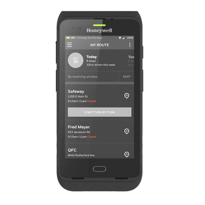Honeywell CT40 PDA - Zwart