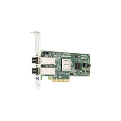 Lenovo netwerkkaart: ThinkServer ThinkServer LPe12002 Dual Port 8Gb Fibre Channel HBA by Emulex, 0.1kg