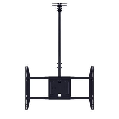 Multibrackets flat panel plafond steun: M Public, Large Single - Zwart