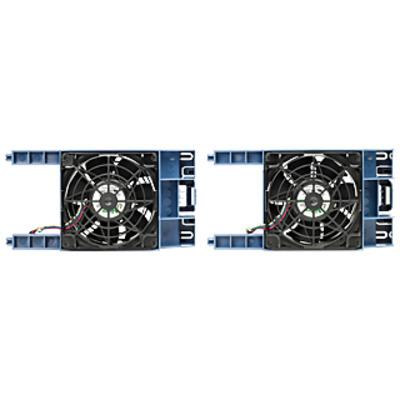 Hewlett Packard Enterprise HPE ML30 Gen9 Front PCI Fan Kit Hardware koeling - Zwart,Blauw